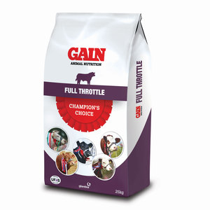 GAIN Champions Choice Full Throttle Muesli 25kg
