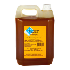 Mastervet Linseed Oil 5L