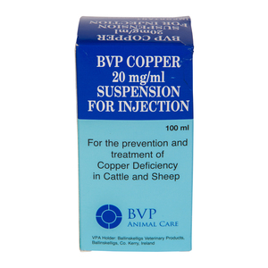 BVP Copper Injection 100ml