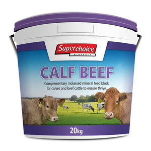 Superchoice Calf Beef Block 20kg