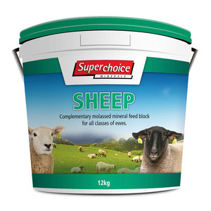 Superchoice Sheep Block 12kg