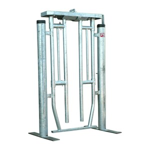 Fox Brothers Semi Automatic Galvanised Cattle Crush Gate