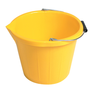 JFC Yellow Scooper Bucket 3 gal