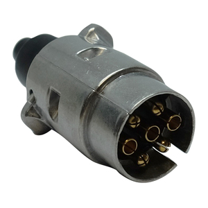7-Pin Aluminium Socket 12V