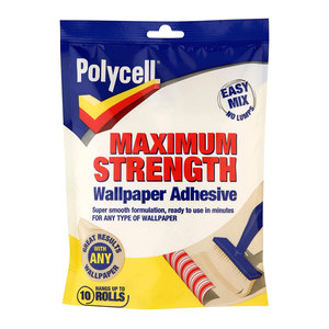 Polycell Adh W/Paper Economy Sachet
