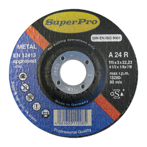 Superpro Metal Cutting Disc 4 1/2in