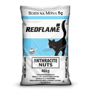 Bord na Mona Red Flame Anthracite Nuts Coal 40kg