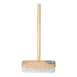 10in Stiff Synthetic Brush with wooden handle
