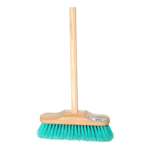 Soft Sweeping Brush with Wooden Handle