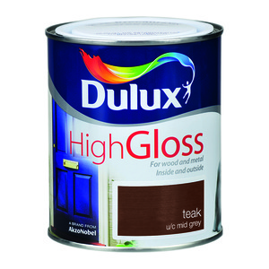 Dulux High Gloss Teak 750ml