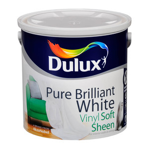 Dulux Vinyl Soft Sheen White 2.5L