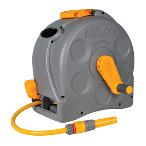 2-in-1 Hozelock Compact Reel with 25m Hose (2415)
