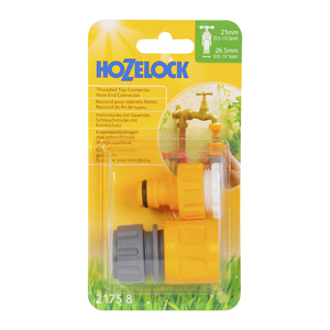 Hozelock Threaded Tap Conn & Hose End  (2175)