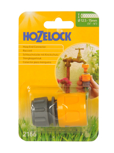 Hozelock Standard Hose End Connectors (2166)