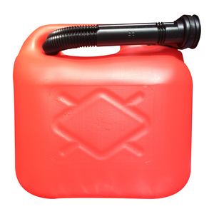 5L Red Plastic Petrol Can