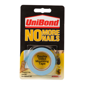 UniBond No More Nails Strong Double Sided Mounting Tape