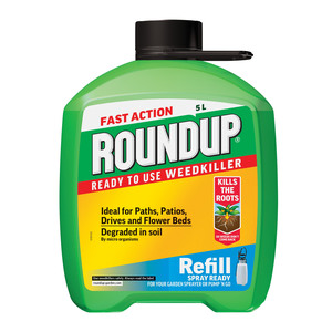 Roundup Fast Action Pump 'N' Go Weed Killer Refill 5L