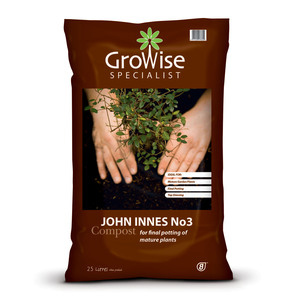 Growise John Innes No.3 Compost 25L
