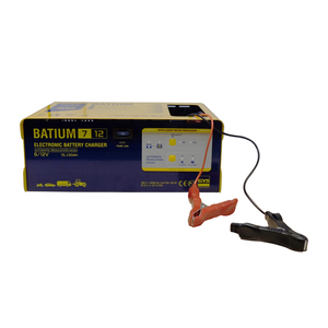15-130Ah Automatic Battery Charger (6V - 12V)