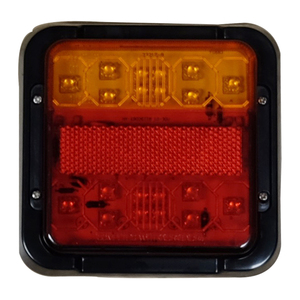 LED 3 Function Square Rear Combi Lamp 12V