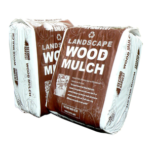 Coloured Walnut Wood Mulch 100L