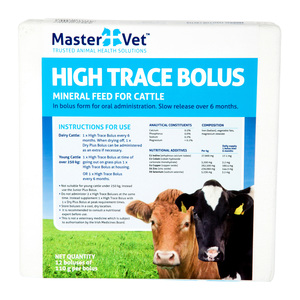 Mastervet High Trace Bolus 12 pack
