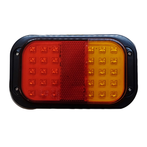 LED 3 Function Rectangular Rear Combi Lamp 12V