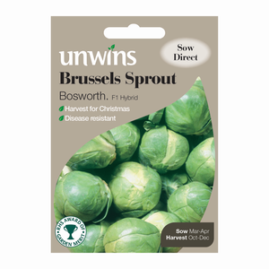 Unwins Brussels Sprout Bosworth F1 Seed