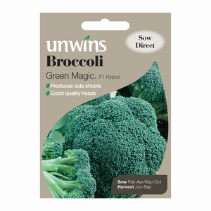 Unwins Broccoli Green Magic F1 Hybrid