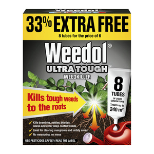 Weedol Ultra tough Tubes 6 + 2 pack