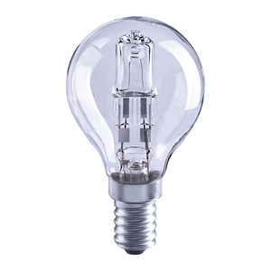 Solus 40W = 30W SES Round Halogen Energy Saver Bulb