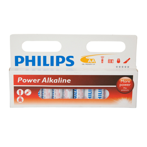 Phillips Batteries 12xAA LR6
