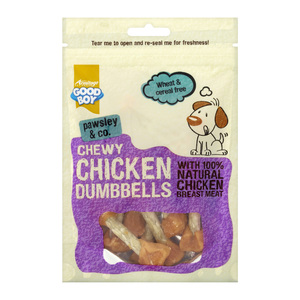 Good Boy Chicken Fillet With Munchy Dumbells 100g