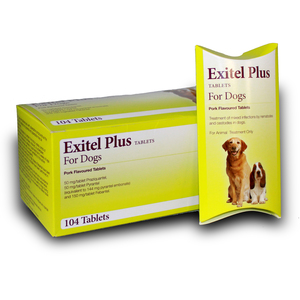 Exitel Plus Flavoured Tablet 20mg