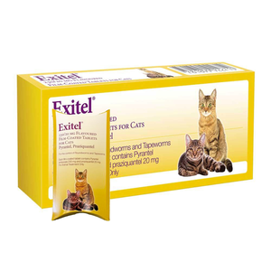 Exitel Flavoured Cat Tablet 20mg