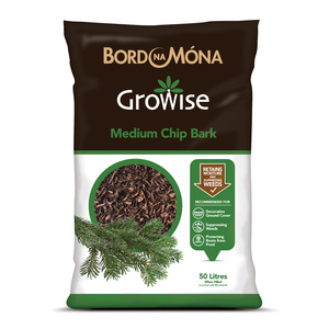Bord Na Mona Growise Medium Chip Bark 50L
