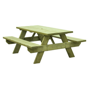 Woodford Oblong 6 Seater Picnic Table