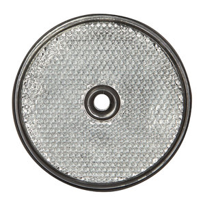 Round Reflector Clear 60mm
