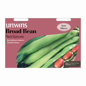 Unwins Broad Bean Red Epicure