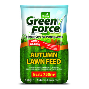 Greenforce Autumn Lawn Feed 15kg
