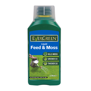 Scotts Evergreen Liquid Feed and Moss 1L