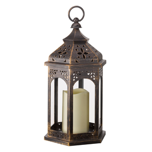Moroccan Battery Operated Lantern