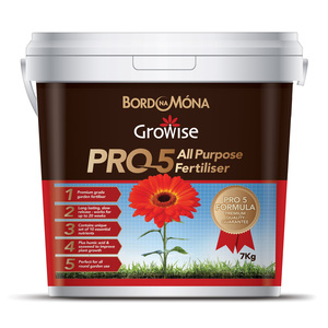 Bord Na Mona Growise Pro 4 All Purpose Fertiliser 7kg