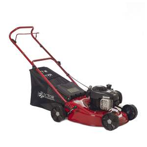 Victor 18in Steel Deck Push Lawnmower