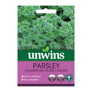 Unwins Moss Curled Parsley Herb Seeds