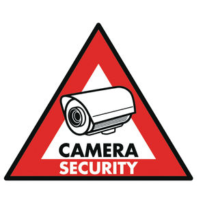 Konig CCTV Warning Sticker