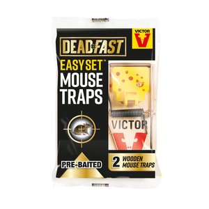 Victor Deadfast Easy Set Twin Mouse Trap