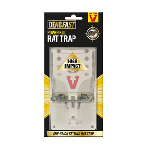 Victor Deadfast Power Kill Rat Single Trap