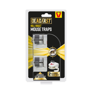 Victor Deadfast Mouse Kill Vault Twin Pack