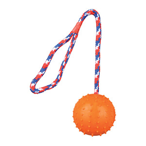 Rubber Ball With 30cm Rope